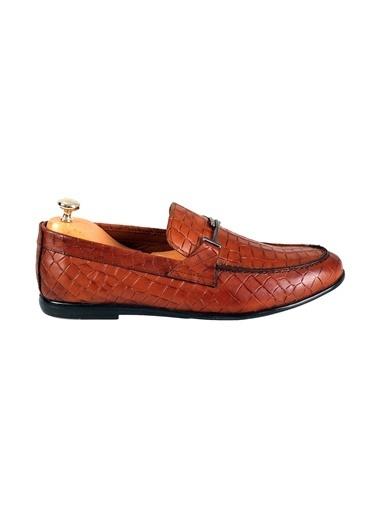 Tripy Hakiki Deri Ayakkabı Taba
